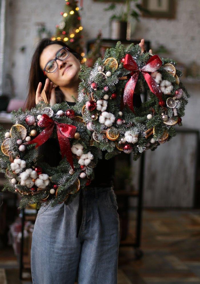 Рождественский венок #11